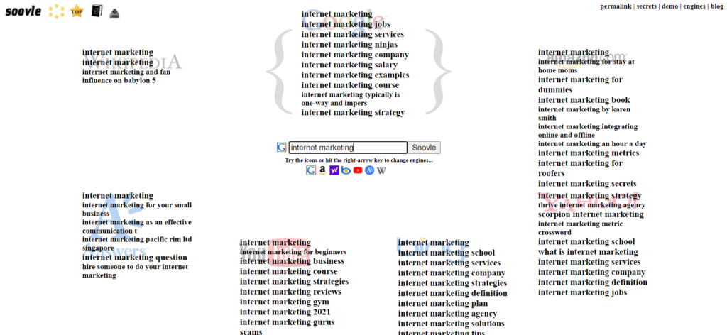 How to generates tons of keyword ideas using soolve