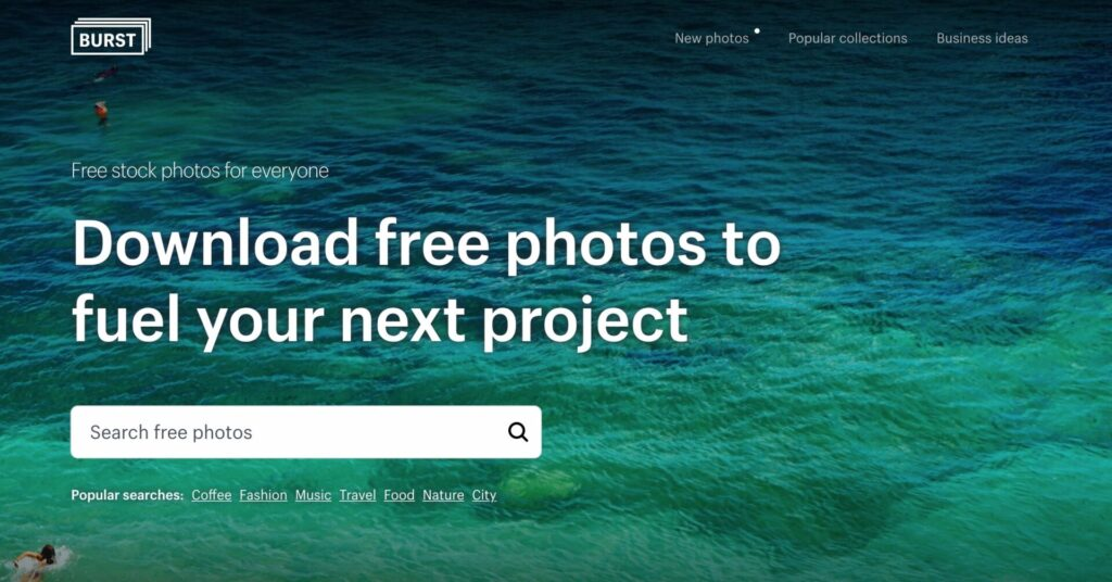 Brust by Shopify for royalty free images