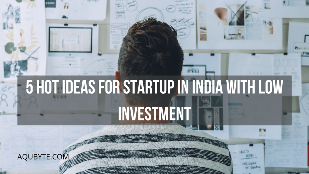 Best ideas for startup in india