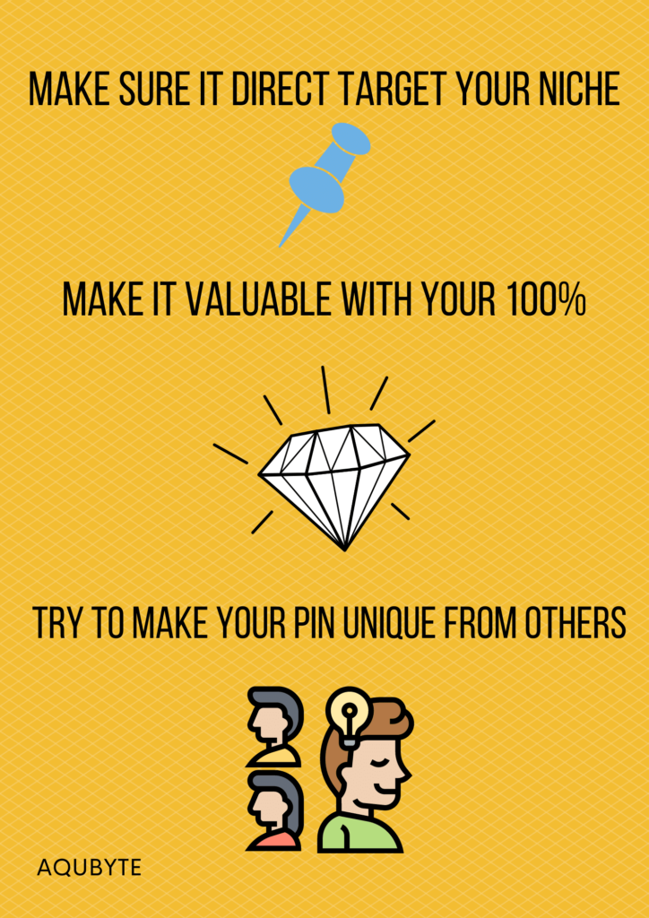 How to make valuable and viral pin for pinterest